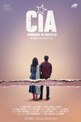 CIA - Comrade In America Maalayalam Movie Offical Poster 3 (Fridaymatinee.in)