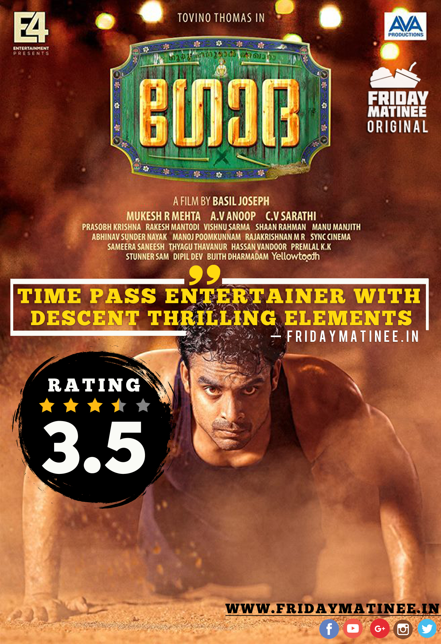 Godha Malayalam Movie Review - FridayMatinee In